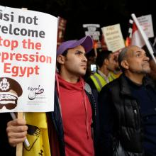 Photo Sisi not welcome